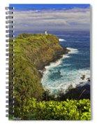 Kilauea Lighthouse Hawaii Spiral Notebook