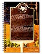 Kilgore Historical Marker Spiral Notebook