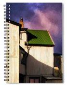 Killer Storm Coming Spiral Notebook