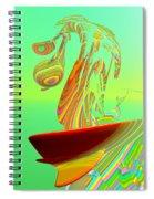 Killer Wave Spiral Notebook