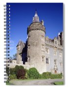 Killyleagh Castle, Co. Down, Ireland Spiral Notebook