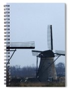 Kinderdijk Windmills 2 Spiral Notebook