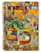 Kindness And Mercy Are Before Hashem's Glory Spiral Notebook