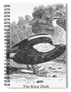 King Duck Spiral Notebook