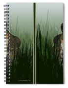 King Frog - Gently Cross Your Eyes And Focus On The Middle Image Spiral Notebook