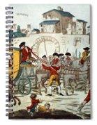 King Louis Xvi: Arrest Spiral Notebook