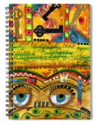 King Of Keys Spiral Notebook