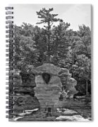 King Of The Hill Pictured Rocks Spiral Notebook