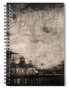 King Of The Pier Spiral Notebook