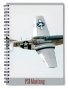 King Of The Skies Spiral Notebook