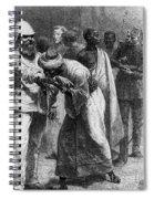King Riouga And Samuel Baker, 1869 Spiral Notebook