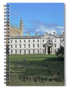 Kings College Chapel And The Gibbs Building Spiral Notebook