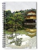 Kinkaku-ji Kyoto Spiral Notebook