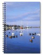 Kinnego Marina, Lough Neagh, Co Antrim Spiral Notebook