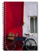 Kinsale, Co Cork, Ireland Bicycle Spiral Notebook