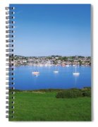 Kinsale, Co Cork, Ireland Boats And Spiral Notebook