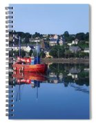 Kinsale Harbour, Co Cork, Ireland Spiral Notebook