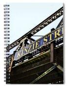 Kinzie Street Stop - Chicago Spiral Notebook