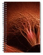 Kirlian Photograph Spiral Notebook