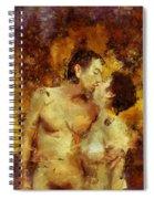 Kiss Me Again Spiral Notebook