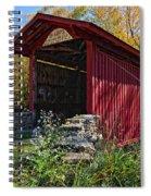 Kissing Bridge 2 Spiral Notebook