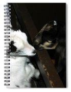 Kissing Kids Spiral Notebook