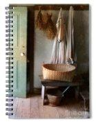Kitchen Door In Old House Spiral Notebook