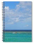 Kitesurfing In Kauai II Spiral Notebook
