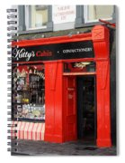 Kittys Traditional Sweets  Spiral Notebook