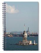 Kiz Kulesi - Leander Tower Istanbul Spiral Notebook