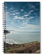 Klamath Overlook With Sun Spiral Notebook