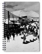 Klondike Street Scene Spiral Notebook