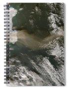 Klyuchevskaya Volcano Spiral Notebook