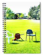 Knocked Down  Spiral Notebook