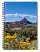 Kolob Terrace Afternoon Spiral Notebook