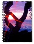 Kona Sunset Hawaii Spiral Notebook
