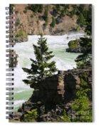 Kootenai Falls In Montana Spiral Notebook
