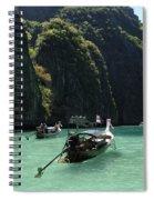 Krabi Island Thailand Spiral Notebook