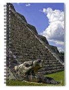 Kukulkan Spiral Notebook