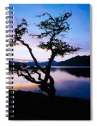 Kylemore Lake, Connemara, Co Galway Spiral Notebook