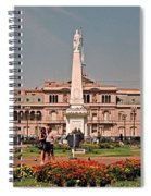 La Casa Rosada ... Spiral Notebook