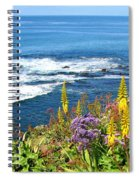 La Jolla Coast Spiral Notebook