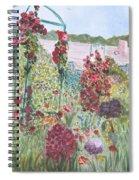 La Maison Et Le Jardin De Monet Spiral Notebook