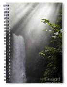 La Paz Waterfall Costa Rica Spiral Notebook