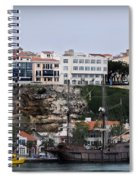 A Galleon At Bottom Of Port Mahon Menorca One Of The Largest Natural Harbours In The World Spiral Notebook