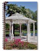 La Quinta Park Gazebo Spiral Notebook