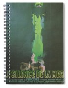 La Silence De La Mer Spiral Notebook