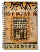 La Tierra Spiral Notebook