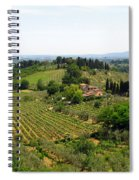 La Toscana Spiral Notebook