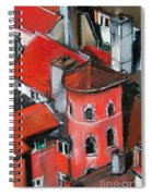 La Tour Rose In Lyon 2 Spiral Notebook